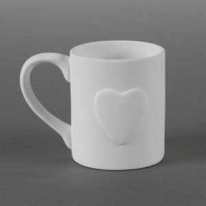 12 oz Heart Personalization Mug