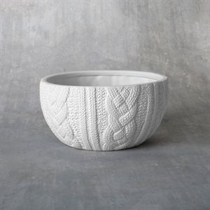Cozy Sweater Cereal Bowl