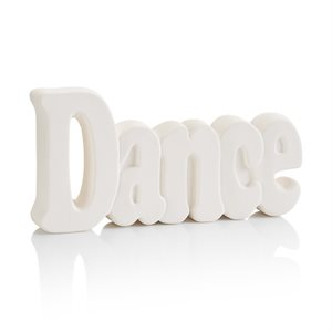 """Dance"" Word Plaque"