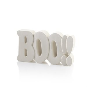 Boo!! Word Plaque