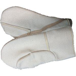 "Kiln Mitts - 14"" - Double Palm - 1500F"